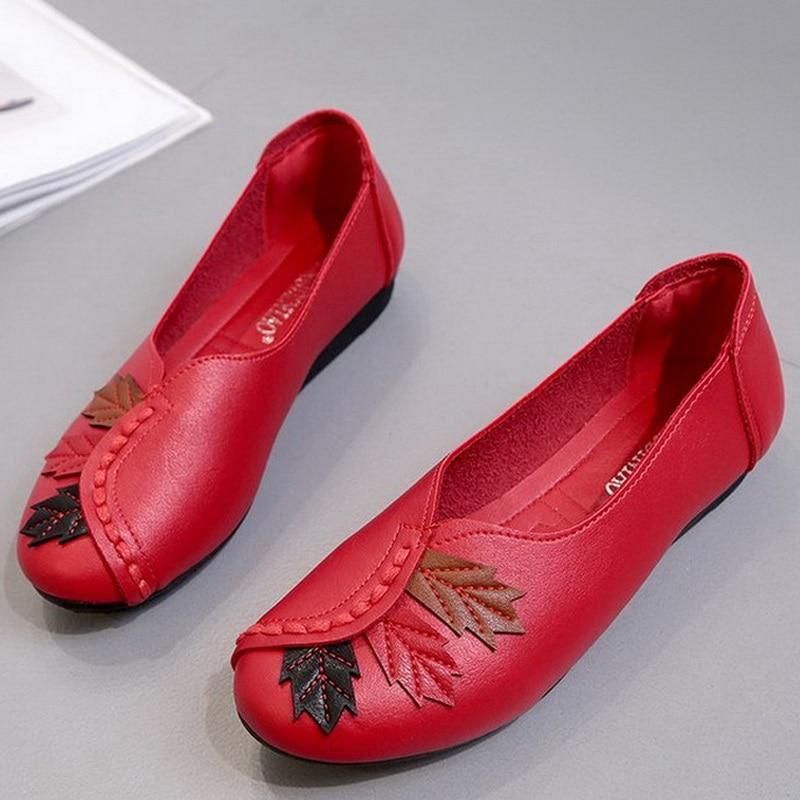 Women Flats Shoes 2019 Soft Moccasins Sl