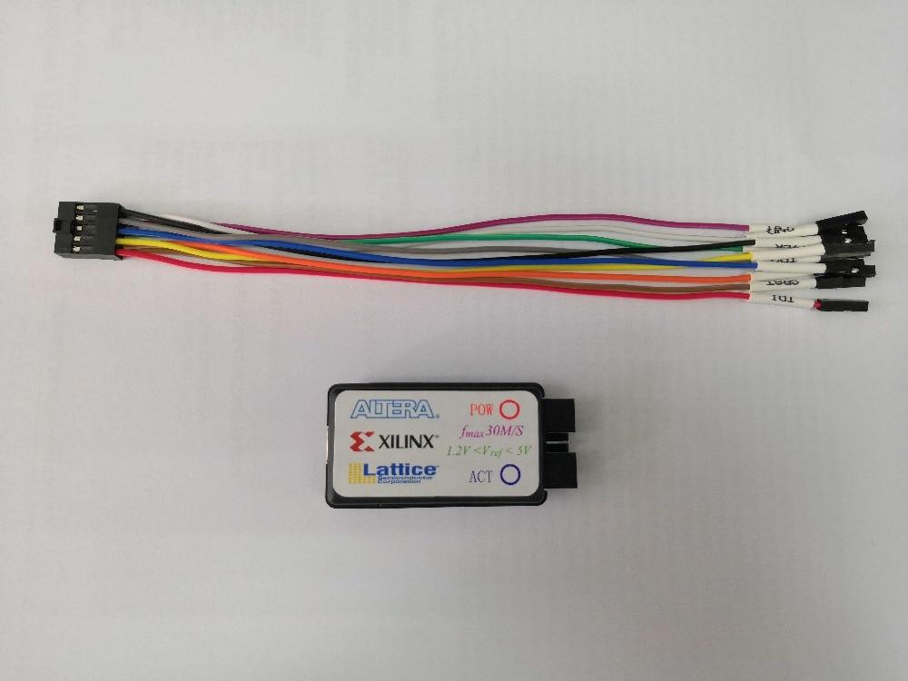 Altera Xilinx Lattice Three-in-one FPGA Downloader JTAG-HS3 USB-Blaster