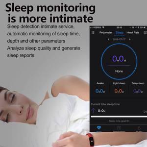Image 4 - Цветной ЖК экран M3 смарт браслет монитор сердечного ритма кровяное давление фитнес трекер Смарт браслет для спорта PK mi Band 3