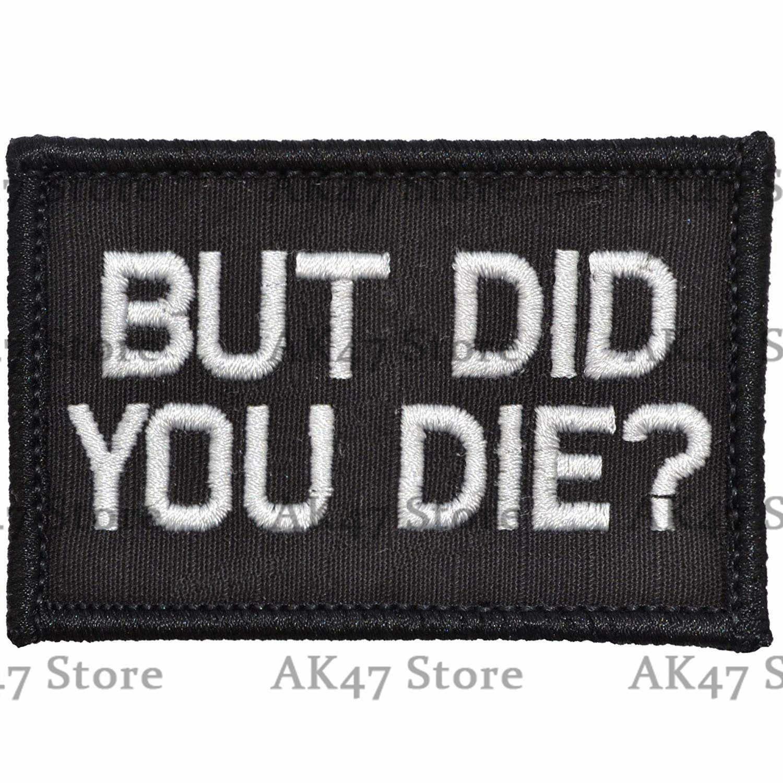 Kekuatan Ruang Biru Tinggal Matter Meme Veteran Perang Mengisap Hidup Mati Moral Patch Taktis Emblem Lencana Lucu Katakan Patch Stripes