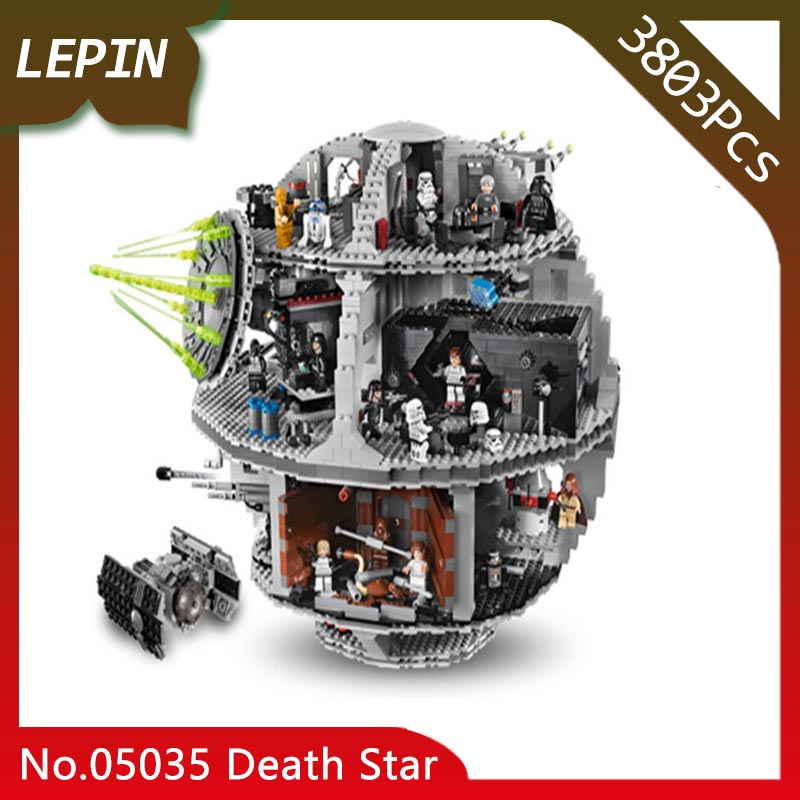 Lepin 05035 Death Star machine 3803Pcs Star Space Wars Series Building Blocks Bricks Children Toys 10188 Gift Doinbby Store