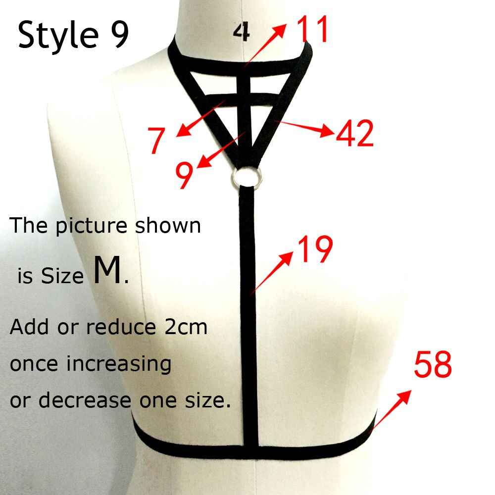 9 Styles Women Bandage Bras Sexy Belt Lingerie Hollow Cage Tops Bra Cage Push Up Bralette Bustier Push Up Crop Tops
