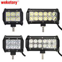 10pcs 7 Inch 36W Cree LED Work Light Lamp For Motorcycle Tractor Boat Off Road 4WD