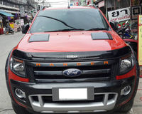 FREE SHIPING FOR 2012 2016+ RANGER T6 T7 BONNET HOOD SCOOP FOR FORD RANGER For Wildtrak Ford Ranger Mk1 Px 2012 2017