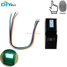 цена на Optical Fingerprint Reader Sensor Module for Arduino Mega2560 UNO R3 Door Lock Security System