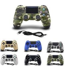 Para o Controlador PS4 Wired Gamepad Para Playstation 4 para Dualshock 4 Controlador Gamepads Joystick Gamepads Para PS4 Console USB