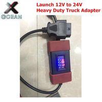 Neueste Starten 12V zu 24V Adapter Starten Heavy Duty Lkw Diesel Adapter Kabel für X431 Easydiag2.0/3 0 golo Carcare|Code Leser & Scan Werkzeuge|Kraftfahrzeuge und Motorräder -
