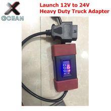Neueste Starten 12V zu 24V Adapter Starten Heavy Duty Lkw Diesel Adapter Kabel für X431 Easydiag2.0/3,0 golo Carcare