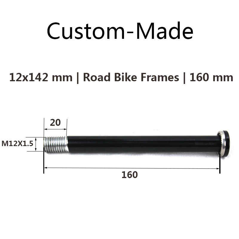 Rear Thru Axle 12X142 overall length 160 164 170 mm thread pitch 1 5 mm biycle
