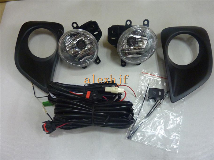 July King Car Fog Lamp Assembly With Fog Lamp Cover, Fog Lamp Kit With Switch And Harness case for TOYOTA VIOS 2013-ON портмоне boss boss bo246bmhqo76