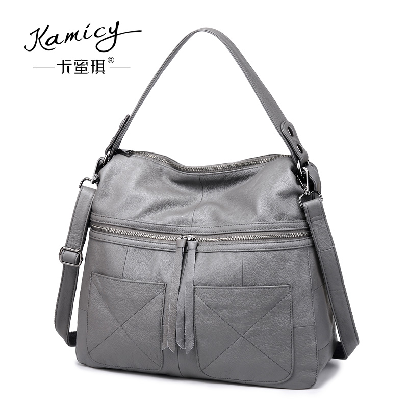ac181cfa2bc2 Kamicy 2018 new style lady messenger bag slanting bag single shoulder bag  slanting span simple leather large capacity women bag