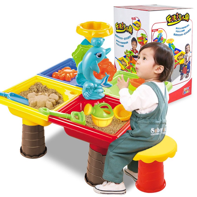 Children Play Beach Toys Table Set Large Baby Swimming Basin Dredging Tools  Play Sand Table Toy In Model Building Kits From Toys U0026 Hobbies On  Aliexpress.com ...
