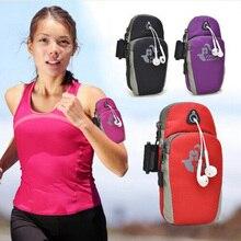 5.7 Universal Running Riding Sport Nylon Arm Band Case for Samsung Galaxy A3 2016 A5 A7 2016 J5 J7 2016 Sport Phone Bag