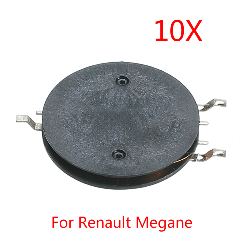 10Pcs Repair Transformer Coil Super Charging Inductance Smart Card Remote Key Case Replacement Parts For Renault Megane Car Key(China)
