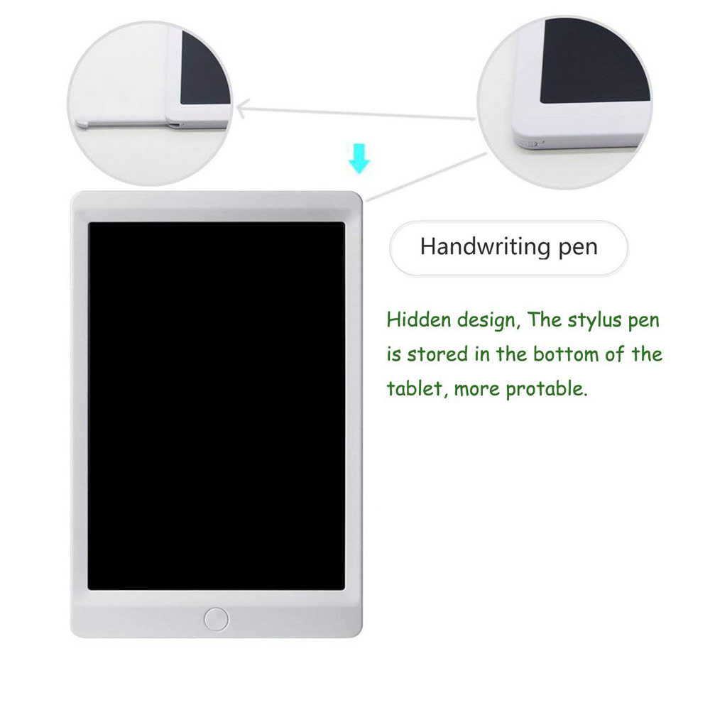 "IPUMYNO 10 ''8,5"" tableta de escritura Digital LCD portátil con tablero de escritura electrónica magnética tableta almohadillas de escritura a mano E -Papel de bloc de notas"