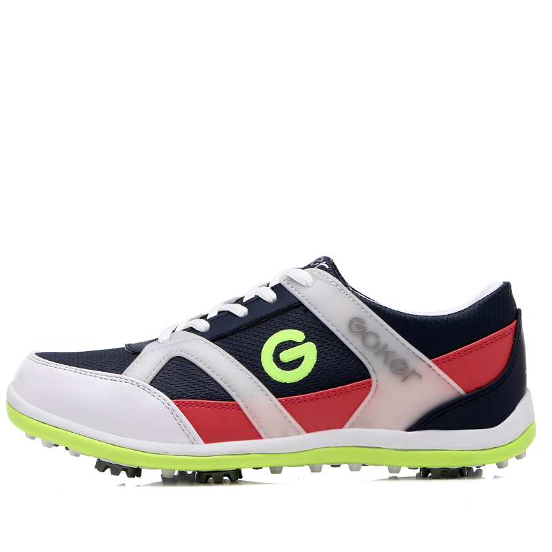 brand 2017 Genuine women golf shoes slip resistant sneakers wear resistant sports shoes hot sale outdoor women shoes Girls Shoes
