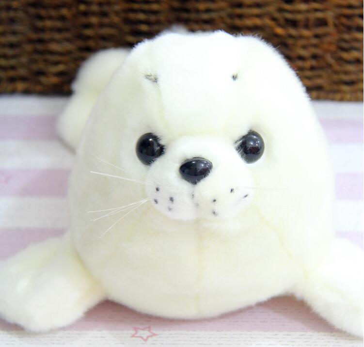 Kids Toys Plush  Simulation Seal  Stuffed Animal  Toys  White Seal Pups Toy Doll Super Cute sadat khattab usama abdul raouf and tsutomu kodaki bio ethanol for future from woody biomass