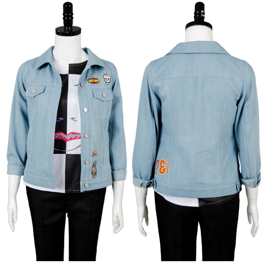 Doctor Who Season 10 Bill Potts Jacket T-Shirt Cosplay Costume