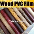 """(12 """"x 49"""") 30*124 CM/LOT qualidade Superior de Madeira FILME de PVC para o carro decoração de interiores de Grãos PVC Vinil adesivo por frete grátis"""