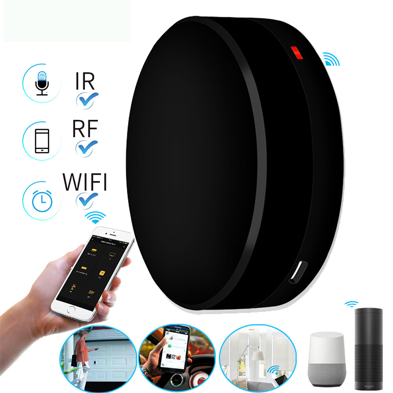 WIFI Remote Control For TV Air Conditioner Universal Smart Remote Controller WIFI+IR+RF Switch Work For Alexa Google IFTTT