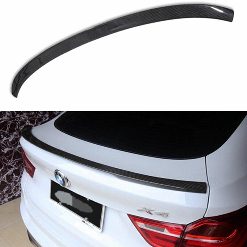 Pour BMW F26 X4 Spoiler un Style ABS matériel voiture aile arrière dépeindre couleur aileron arrière pour BMW X4 Spoiler 2014 2015 20116