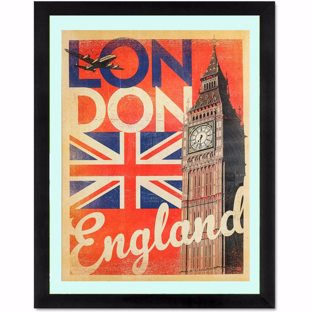 londres inglaterra pintura canvas art print poster pared cuadros para la decoracin de la habitacin decoracin