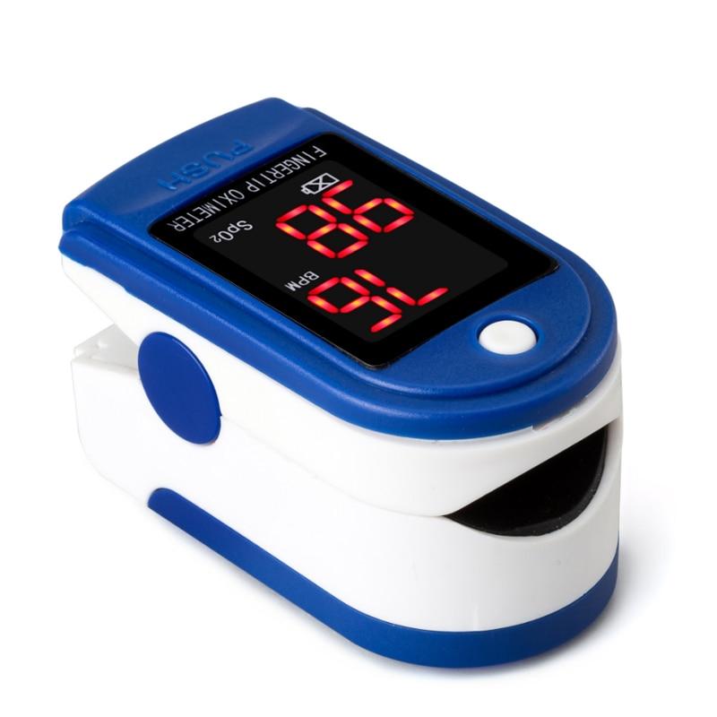 Oximetro Pulse Oximeter De Pulso De Dedo Fingertip Pulse Oximeter Two Color Pulsioximetro Blood Pressure Monitor Pulse Meter lson fingertip pulse oximeter