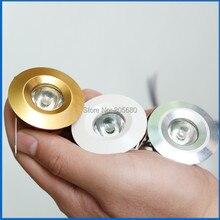 Free Shipping By Express Mini led spot lamp 1W 3W LED Kitchen Cabinet Spot Bulb Lamp 30pcs/lot CE RoHS