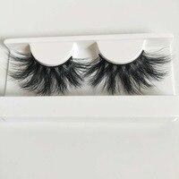 DEEP EYES 10 pairs of 10 boxesExtra long 25mm Mink Lashes 3D Mink 100%Handmade eyelashes
