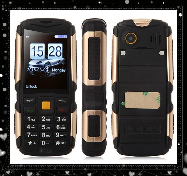 """Открытый Детский Спорт телефон M12 Непромокаемые Мобильного Телефона (3 sim-карты) длительным временем ожидания 2.4 """"M12 Пыле Противоударный Рождество телефон"""