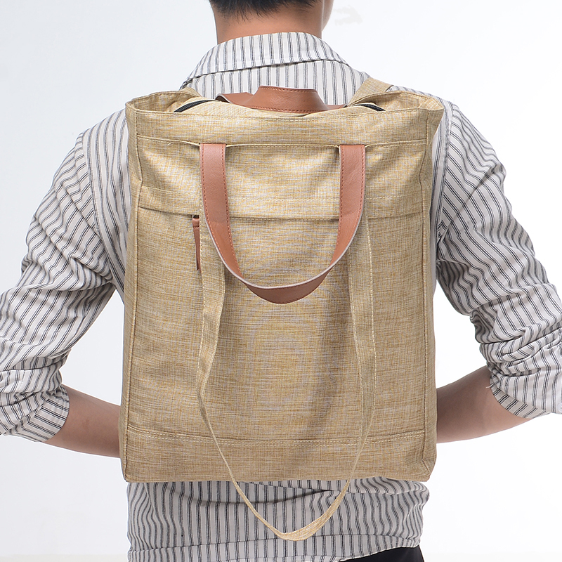 New Arrival Men Backpack Casual Rucksack Soft Laptop Backpacks Unisex Solid Bags Interior Zipper Pocket Women Softback in Backpacks from Luggage Bags