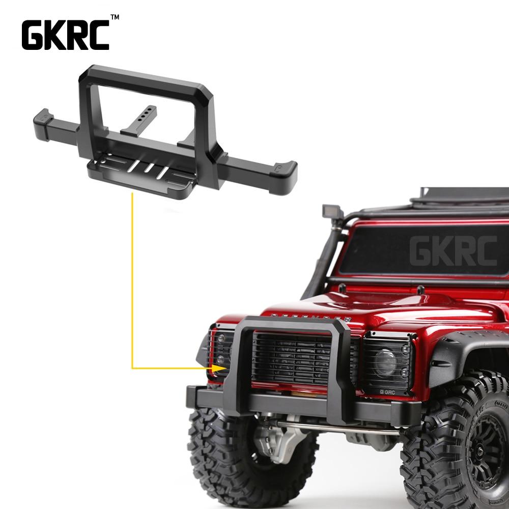 Pare-chocs avant en métal TRX4 pour chenilles RC 1:10 Traxxas TRX-4 TRX 4 pièces de voiture de mise à niveau