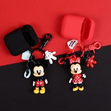 New Cute Cartoon Silicone Case For Apple Airpods Accessories Protective Decor Cover Pouch Headset