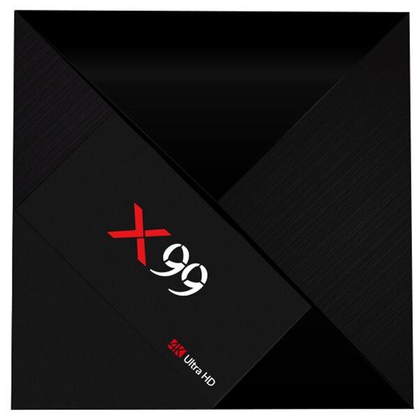 X99 TV BOX RK3399 Mali-T860MP4 4GB RAM 32GB ROM Android 7.1 HDR10 2.4G + 5G + AC WIFI BT4.1 4K UHD Media Player Android TV Box цена