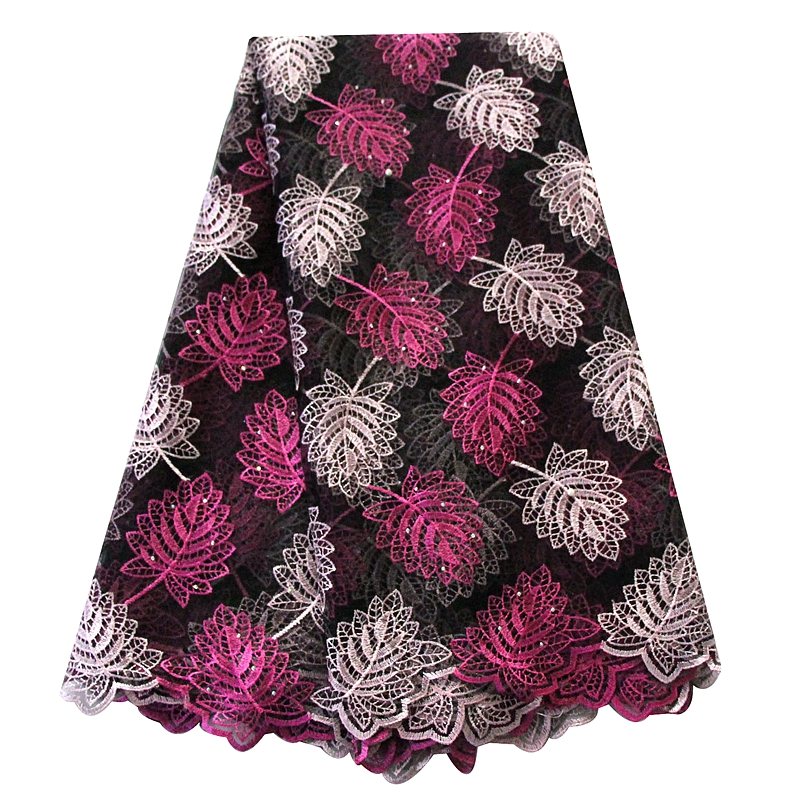 Beautiful aso ebi embroidery swiss mesh material african lace fabrics 2018 cheap wholesale nigerian tulle lace blush pink gold