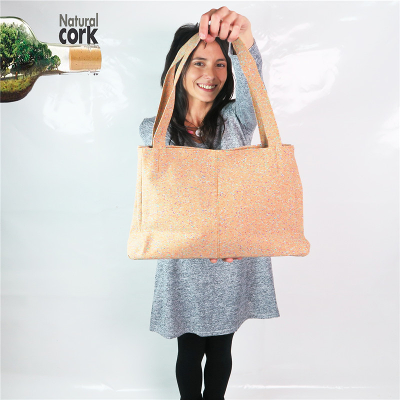 natural cork handmade colorful dot women handbags   vegan high quality bags Bag-137 From Portugal 10 natural astaxanthin from