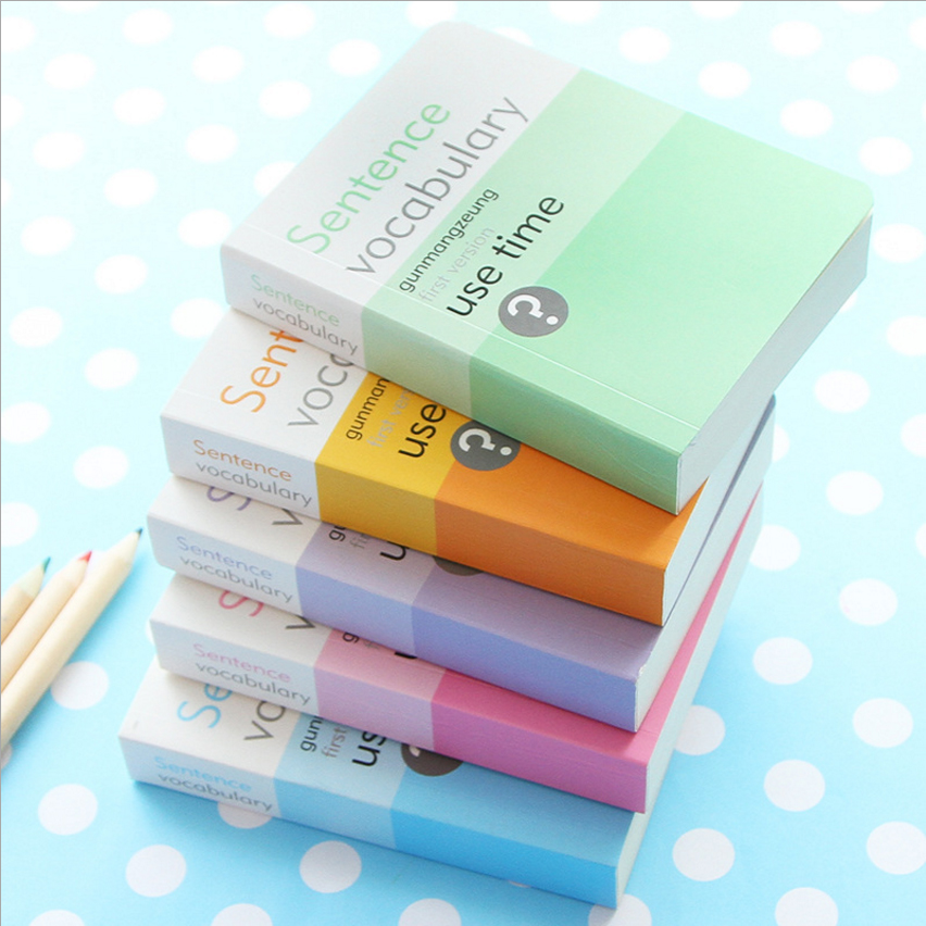180 pages Mini Words book Cute Kawaii Learn Foreign Vocabulary Language Study Remember helper School & Office Supplies EC01-in Notebooks from Office & School Supplies on Aliexpress.com | Alibaba Group