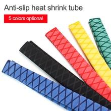 Non-slip Heat Shrink Wrap Tubing Fishing Rod DIY 5 colors 1M Handle Insulation Waterproof Racket Grip