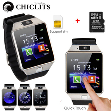 DZ09 Bluetooth Smart Watch Smartwatch Wearable Devices with Camera relogio Support SIM TF Card for iPhone Samsung HUAWEI PK GT08