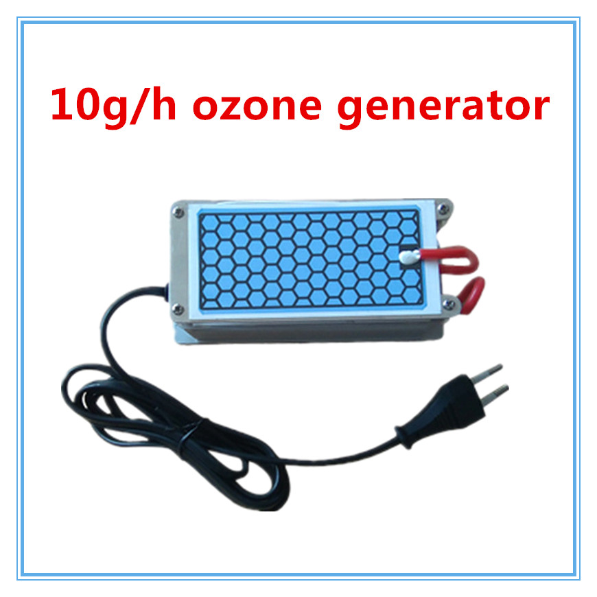 Simple Multifunctional Ozone Generator/Sterilizer 10g for Basement / Pet House Deodorization Euro Plug with Gift+ Free Shipping shanghai kuaiqin kq 5 multifunctional shoes dryer w deodorization sterilization drying warmth
