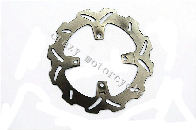 Motorcycle Brake Disc Rotor fit for Kawasaki KX 125 KX250 2003-2005 KX 250F 2004-2005 Suzuki RMZ 250 2004-2006
