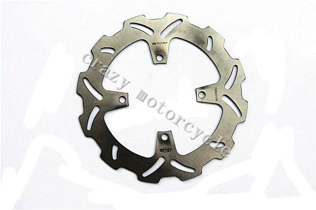 Мотоцикл тормозного диска ротора, пригодного для Кавасаки КХ 125 KX250 2003-2005 КХ 250F 2004-2005 Suzuki РМЗ 250 2004-2006
