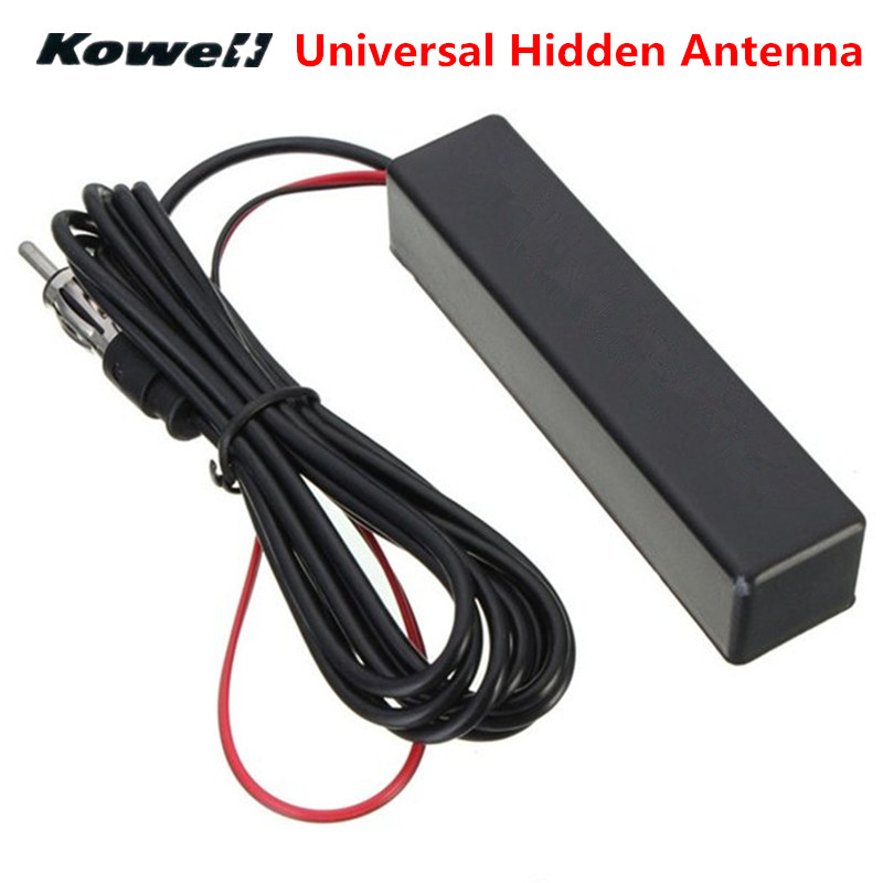 KOWELL Universal Car Auto Stereo Radio Electronic Hidden Antenna Aerial FM/AM Amplified for Lada for Volkswagen VW Golf Bora RIO