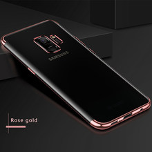 Case For Samsung Galaxy Note9 J4 J6 A6 2018 Case Soft Laser Plating Fundas Coque Cover For Samsung A8 A 8 Plus 2018 Case A6 Plus(China)