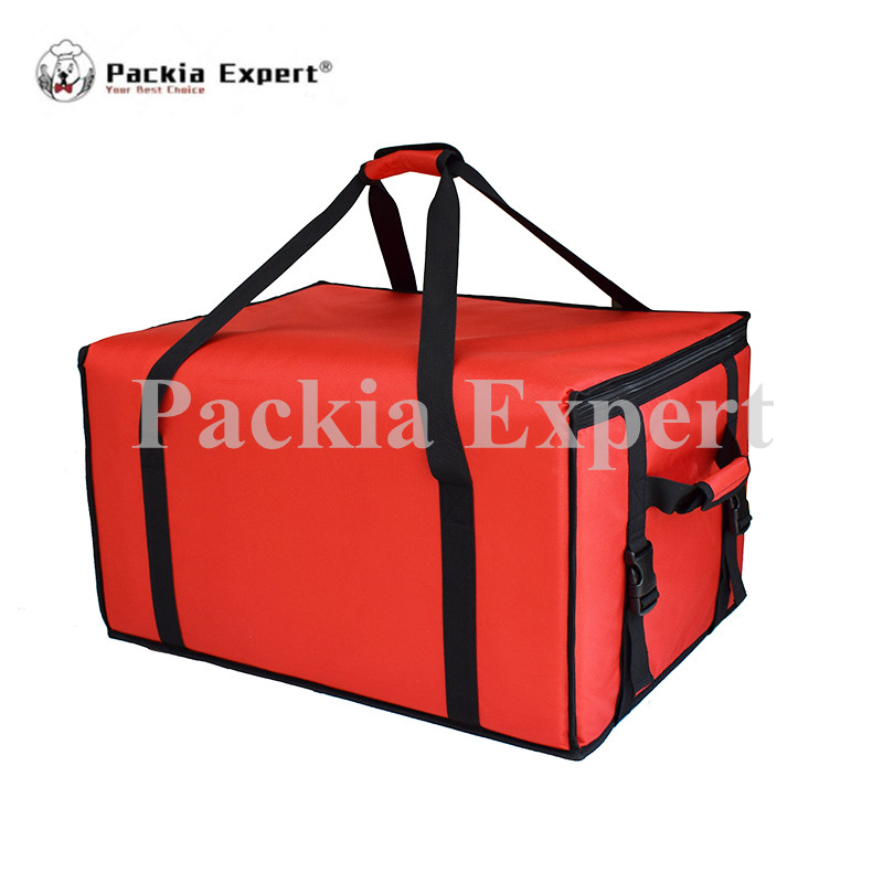 23 L x 20 W x 16 H Pizza Delivery Box, Big Pizza Delivery Bag, Catering Carrier, Motorcycle 2-Way Zipper Closure Zl-615542 security mail bag w lockable belt closure 18w x 30h