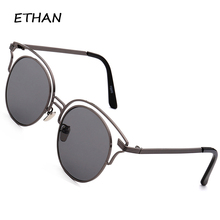 Sunglasses Unisex Women Outdoor Fashion Round Frame Casual Sun Glasses Men 5 Colors Oculos UV400