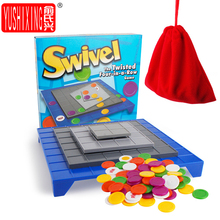 Four Pieces Game Rotate The Board Game  Four In A Row Desktop Toys Games Parent-child Family Party Toys