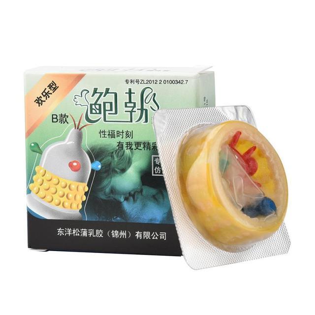 1pcs Sensitive Fragrant Condoms Condoms for Men Natural Latex Condom for Male Sex Toys for Men random color De14