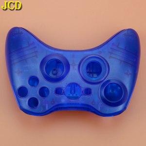 Image 5 - Decyzja wspólnego komitetu eog dla microsoft xbox 360 kontroler bezprzewodowy twarda obudowa Gamepad ochronna powłoka etui W/zestaw przycisków gałka analogowa zderzaki