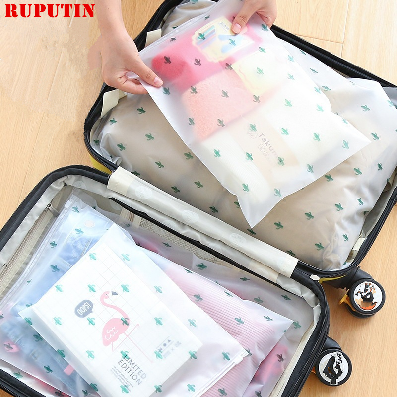 RUPUTIN Women's Travel PVC Cosmetic Bags Transparent Zipper Make Up Bags Organizer Beauty Toiletry Bag Bath Travel Accessories